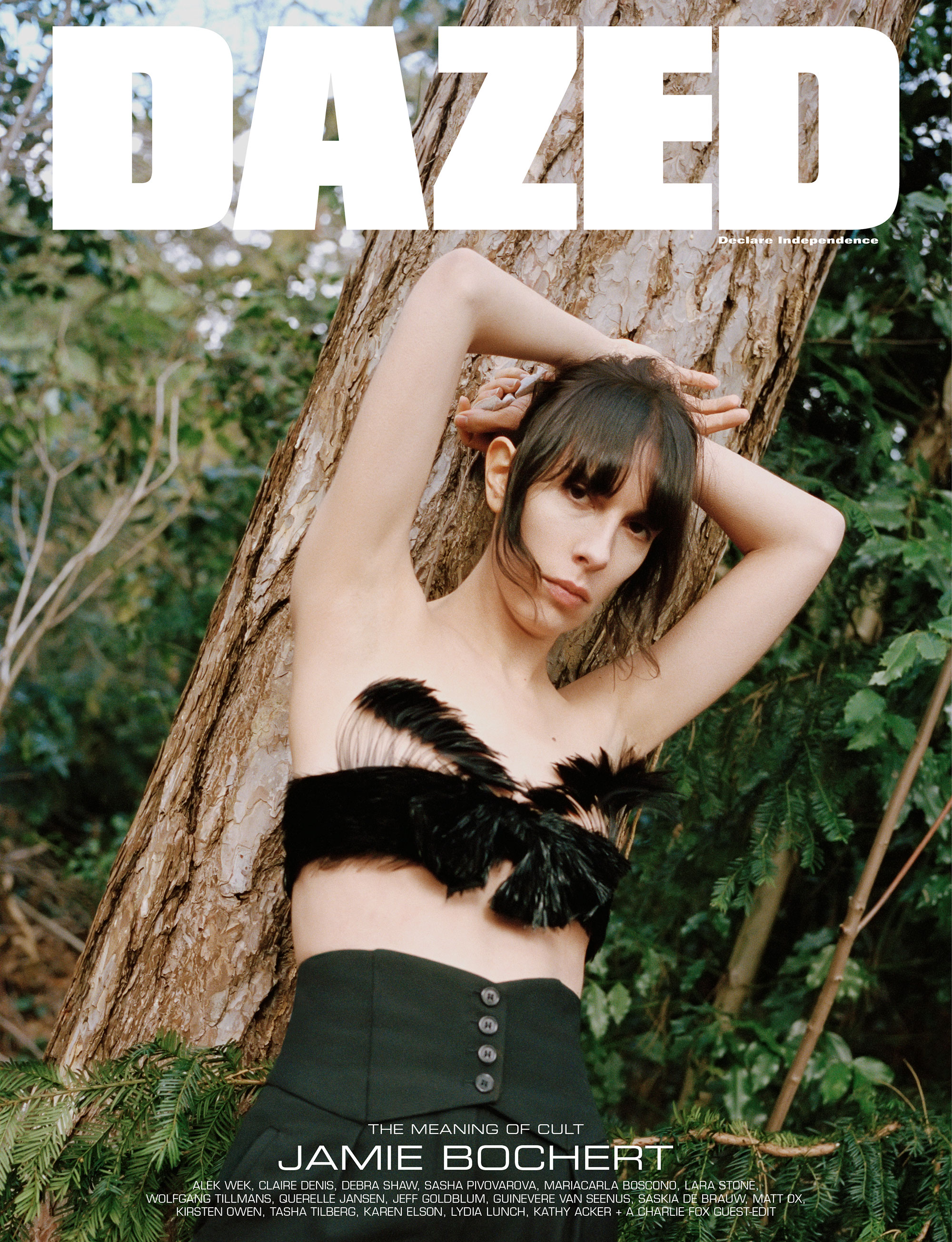 Jamie Bochert by Letty Schmiterlow for Dazed Magazine's SS2019 'The Meaning of Cult' issue.