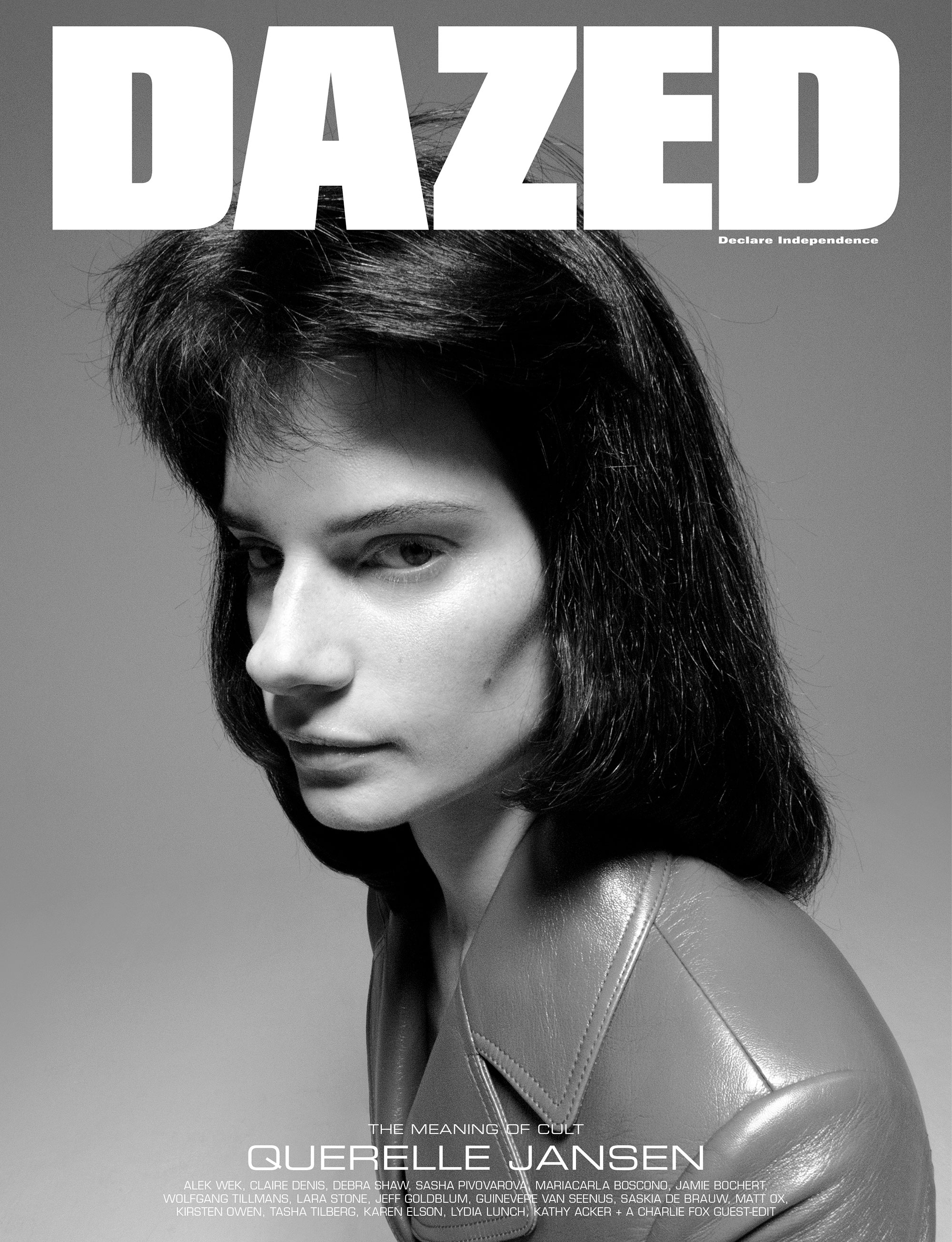 Querelle Jansen by Julien Martinez Leclerc for Dazed Magazine's SS2019 'The Meaning of Cult' issue.
