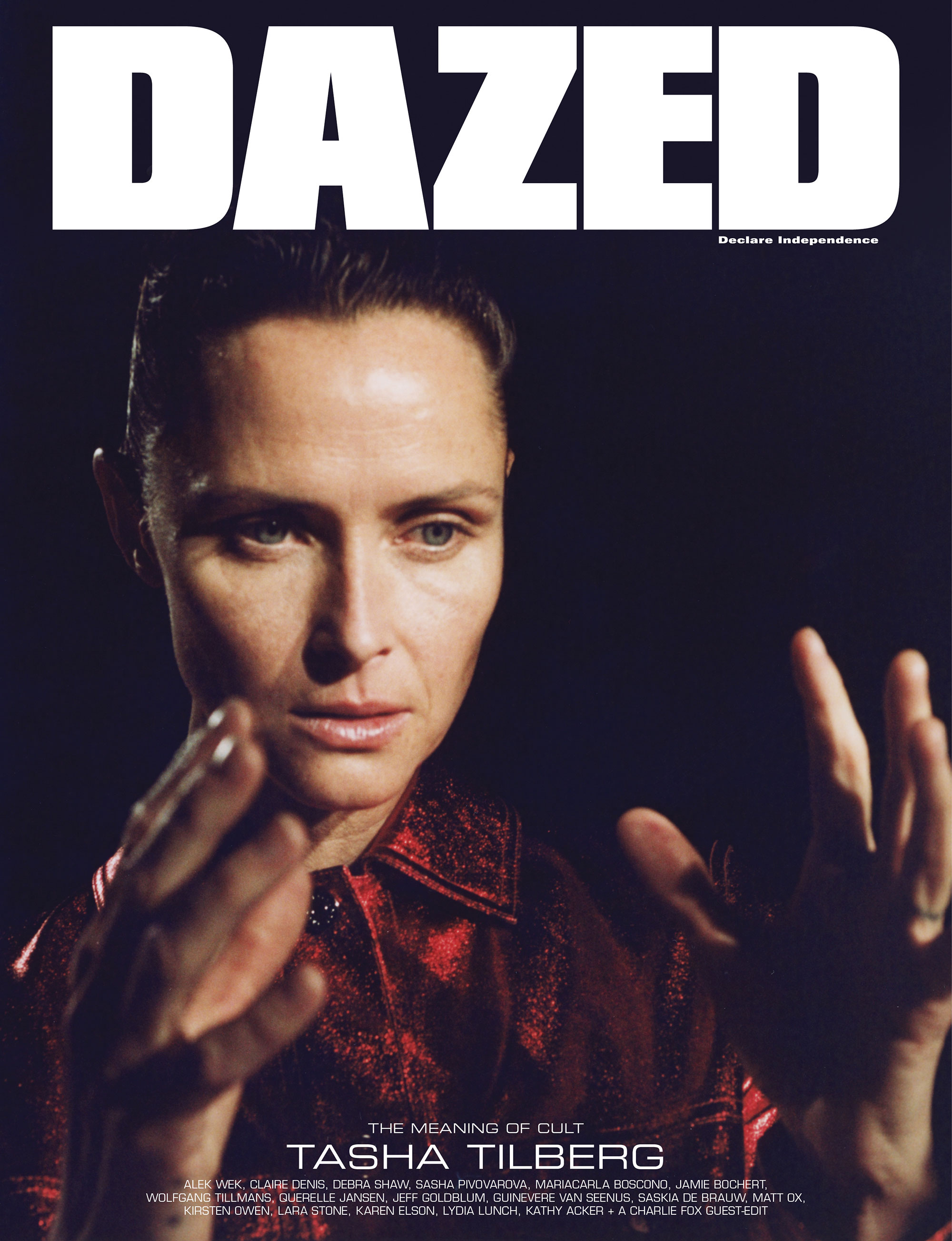 Tasha Tilberg by Suffo Moncloa for Dazed Magazine's SS2019 'The Meaning of Cult' issue digital.