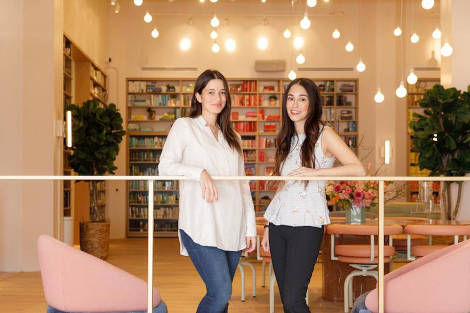 Lauren Kassan and Audrey Gelman, the cofounders of The Wing. Image courtesy of The Wing.