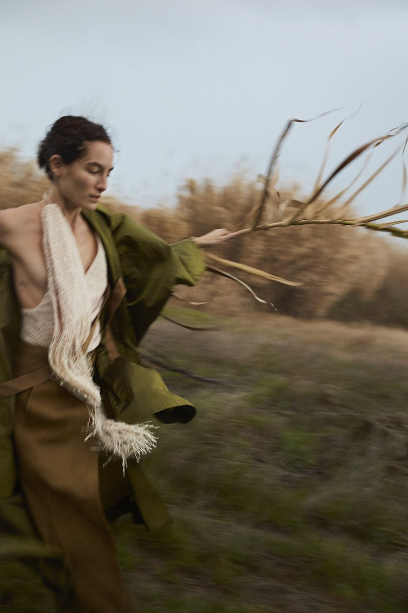 Heather Kemesky by Sonia Szóstak for Vogue Poland