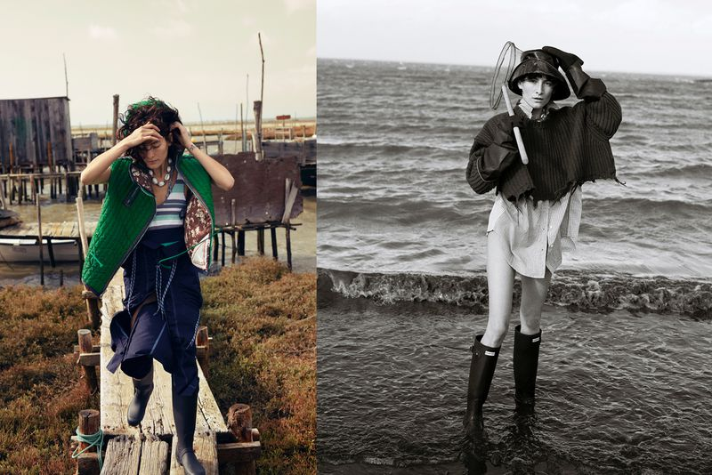 Sonia Szóstak Captures Heather Kemesky In 'Fisherman's Girlfriend' For Vogue Poland