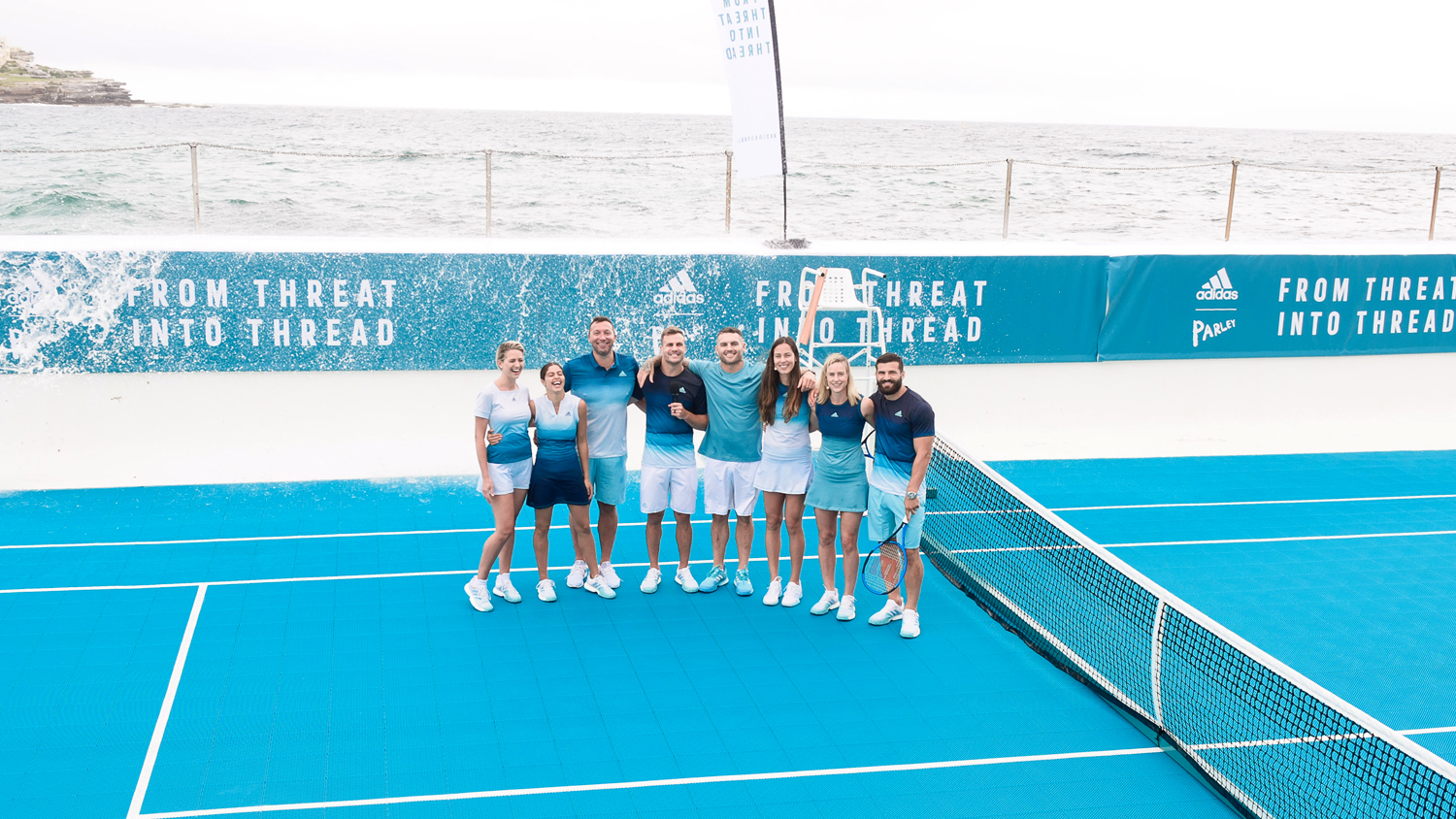 adidas x Parley tennis collection at Australian Open January 2019