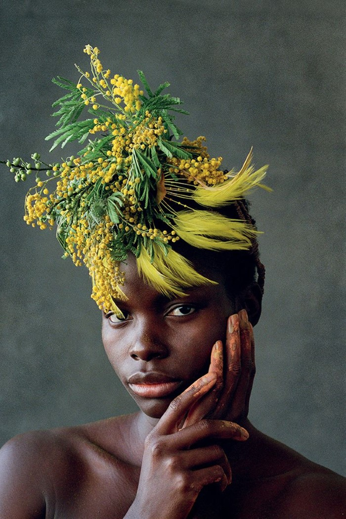 Jeneil Williams channels the Omo Valley people in 'Africa Motherland' by Delphine Diallo for Vogue Portugal April 2019