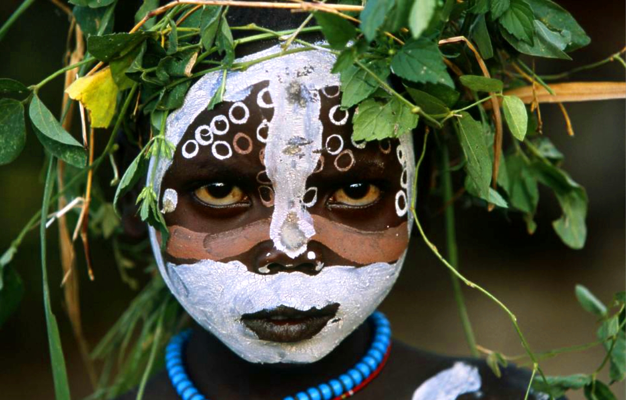 "~ Hans Silvester: ""Natural Fashion, Tribal Decoration from Africa"" (2008)"