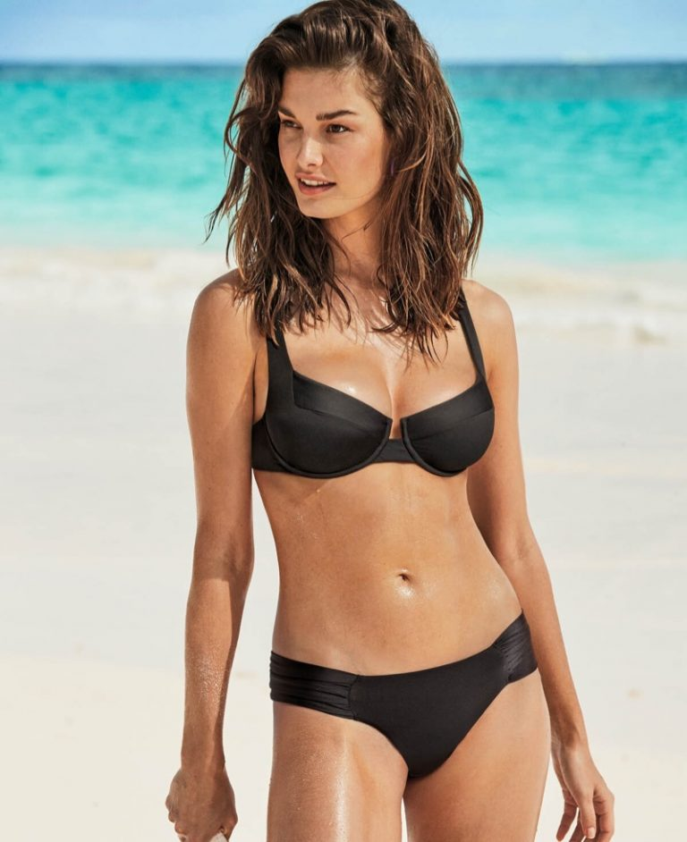 415d2ef4f0eec Ophelie Guillermand Sizzles In Ben Watts Images Of Calzedonia ...