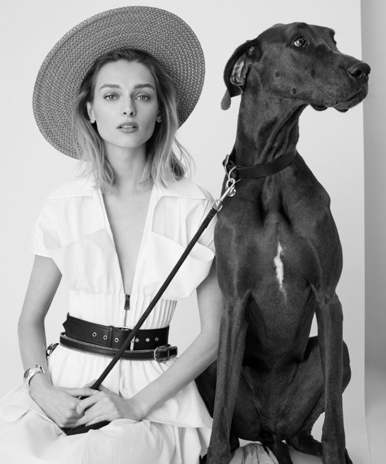 Daga Ziober and Her Sophisticated Companion By Lara Jade For Modern Luxury May 2018