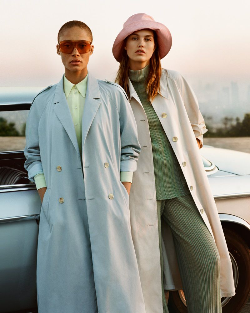 Mango's 'New Voices' Channel California Lifestyle by Alasdair McLellan.