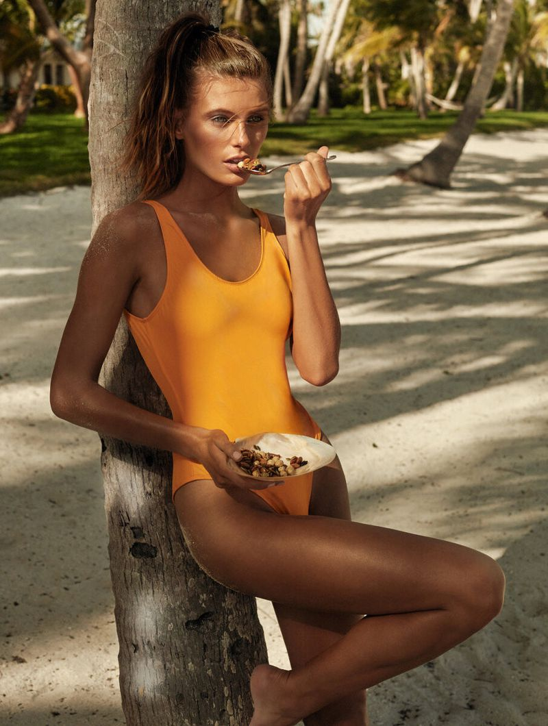 Madison Headrique Soaks In Summer Wellness By Alique For Vogue Paris May 2019