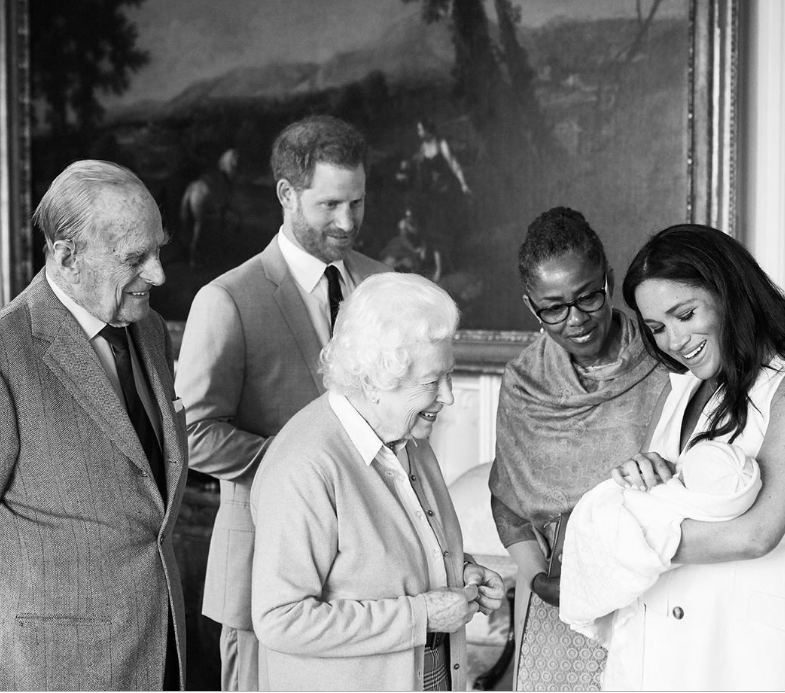 Later in the day Archie met his great-grandmother  Queen Elizabeth II  and several other members of the royal family. Meghan's mum Doria Ragland has been at her side and will stay on for a time as a new order comes to the Sussex household.