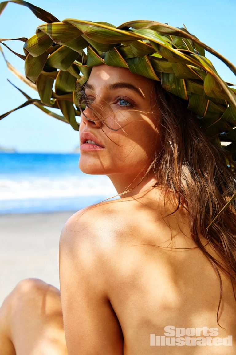 Barbara Palvin strikes a sensual pose by James Macari for Sports Illustrated 2019 Swimsuit Issue