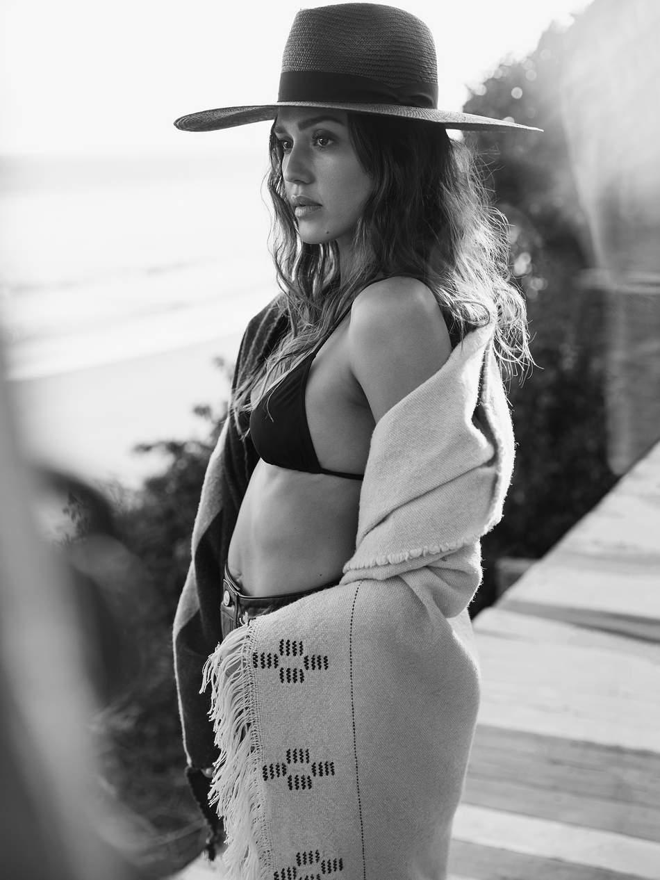 Jessica Alba Talks Leading An 'Honest Life' Lensed By Will Davidson
