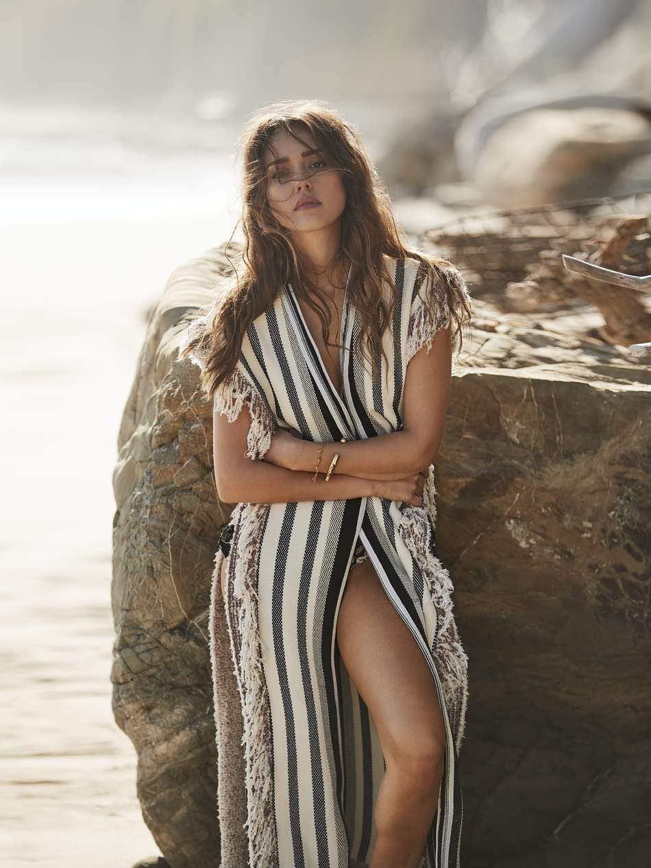 Jessica Alba Wears 3.1 Phillip Lim Robe Lensed By Will Davidson for Porter Edit