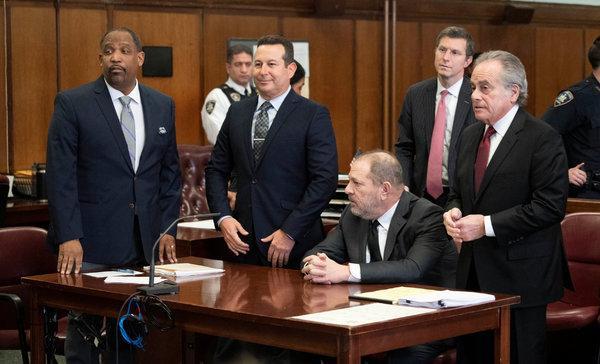 Harvey Weinstein's team of lawyers in New York Federal Court