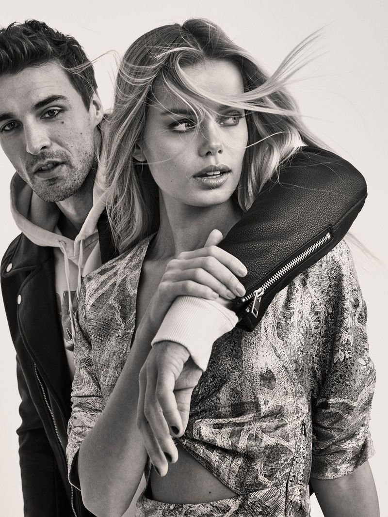 Frida Aasen + Nikolai Danielsen Are 'The Runaways' Lensed By Fred Jonny For ELLE Norway