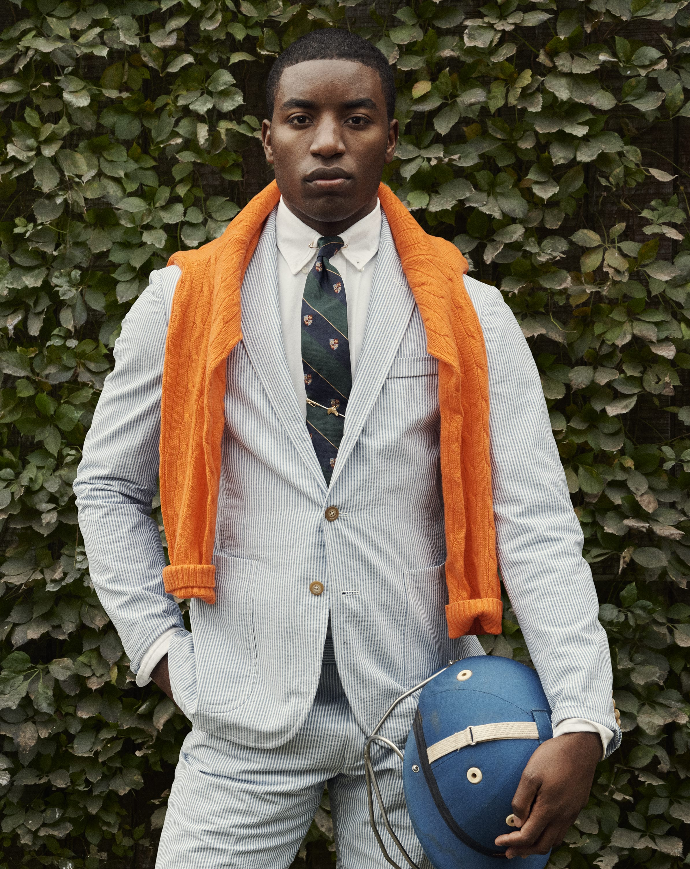 Kareem Rosser by Sharif Hamza for Ralph Lauren Polo.