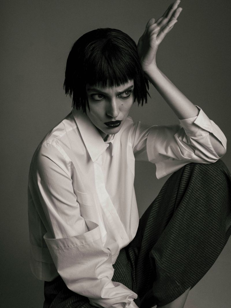 JuanKr Captures Zuzanna Bijoch In 'Noir Désir' For Numero Russia May 2019