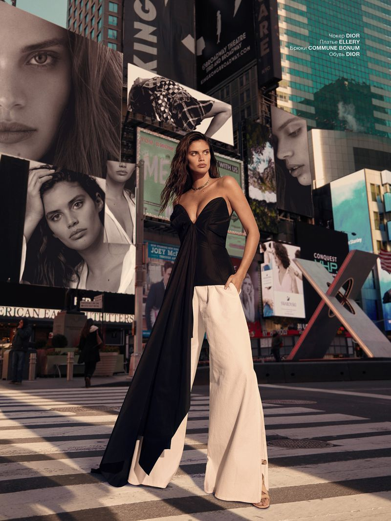 Greg Swales Flashes Sara Sampaio In 'Visions in Digital' For Numero Russia May 2019