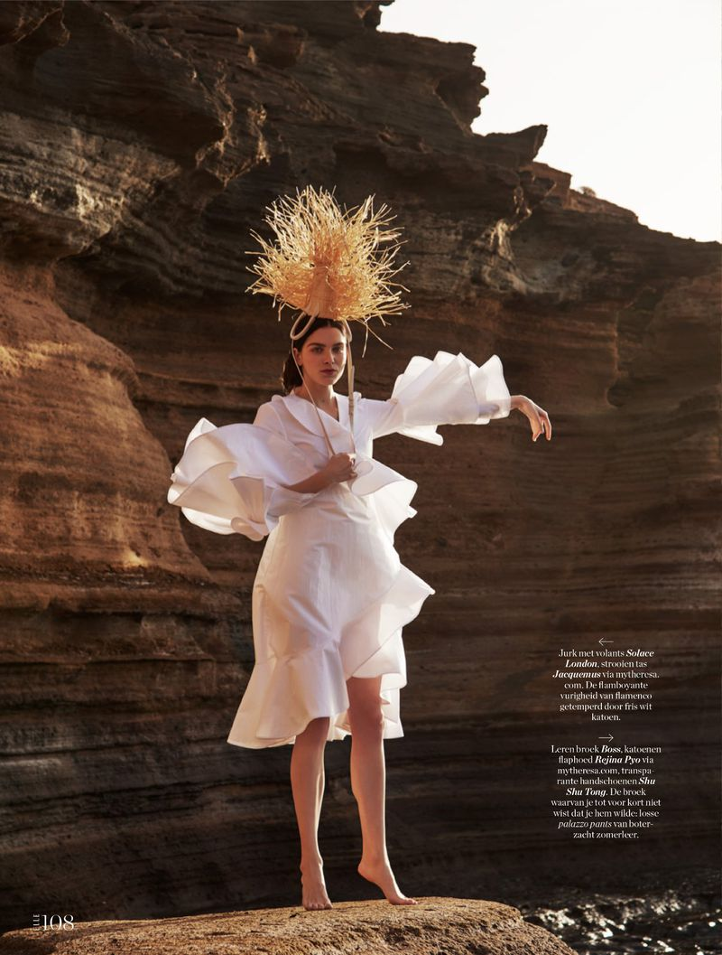 Sanne de Roo Channels goddess spirit By Nicky Onderwater For ELLE Netherlands May 2019