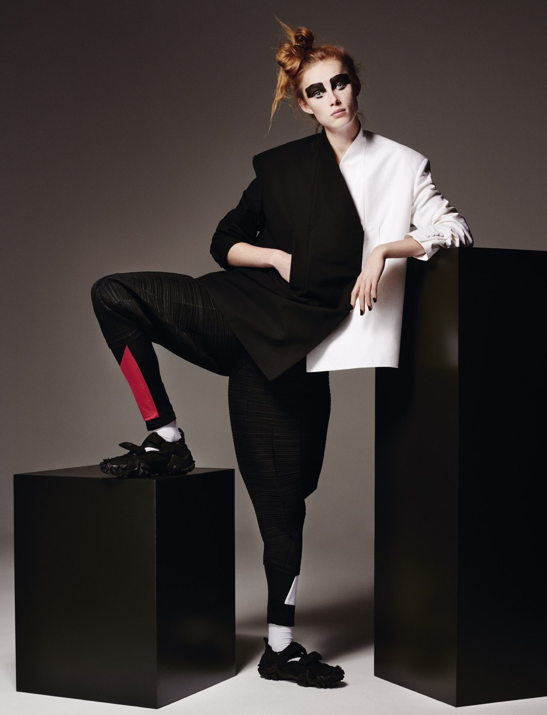 Rianne Van Rompaey Shares A 'Command Performance' By Theo Sion For Vogue UK June 2019