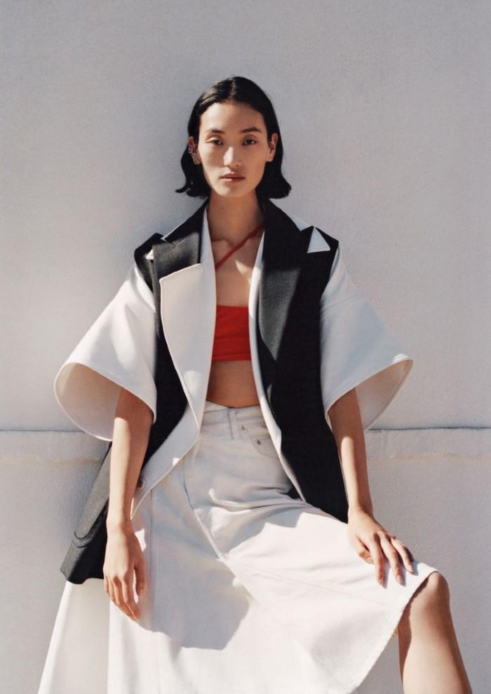Jen Carey Captures Lina Zhang In Urban Summer Classics For Vogue Netherlands June 2019