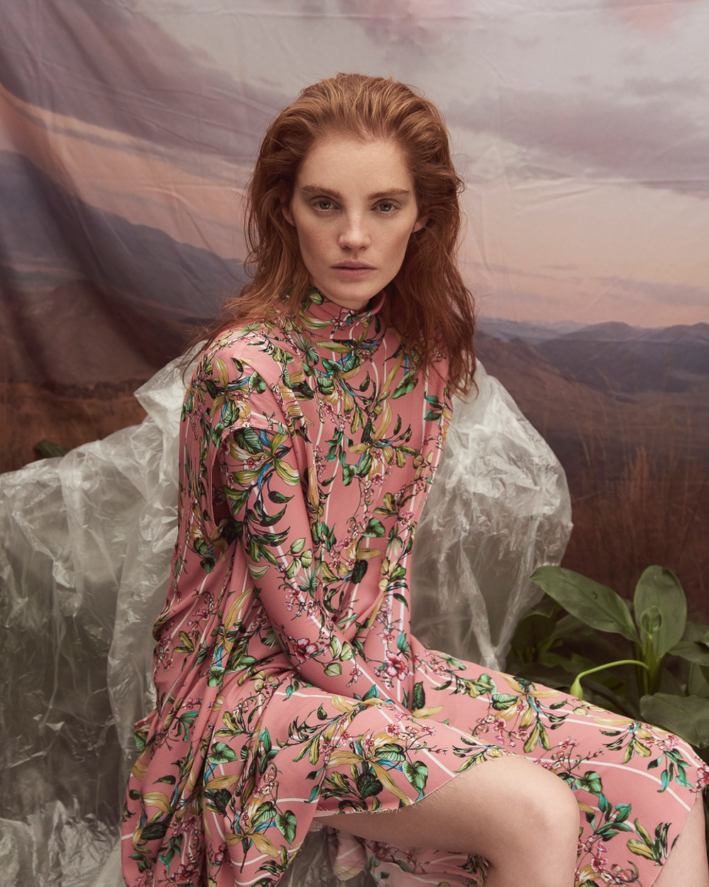 Alexina Graham Blushes in Sensual Hothouse Flowers by Alexina Graham
