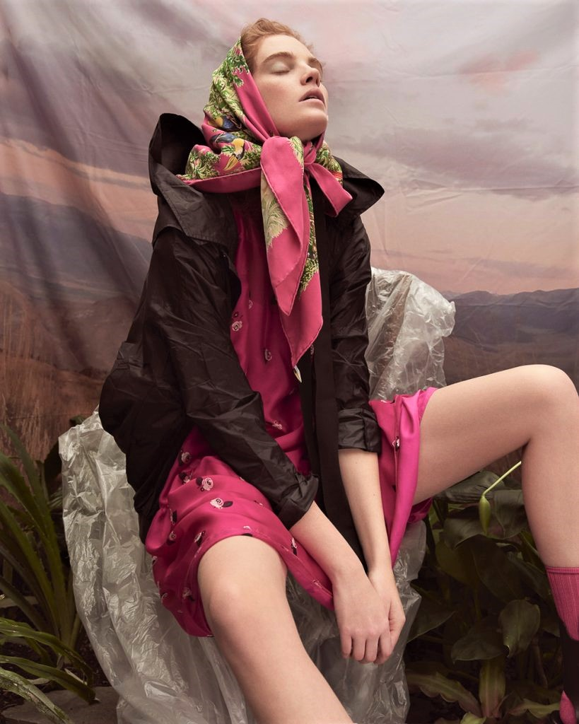 Modesty Reigns In Alexina Graham's Hothouse Flower Prints
