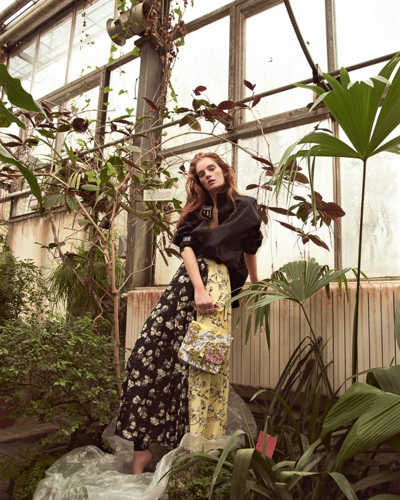 Flowers Running Wild Lensed by Andreas Ortner for Marie Claire Czech