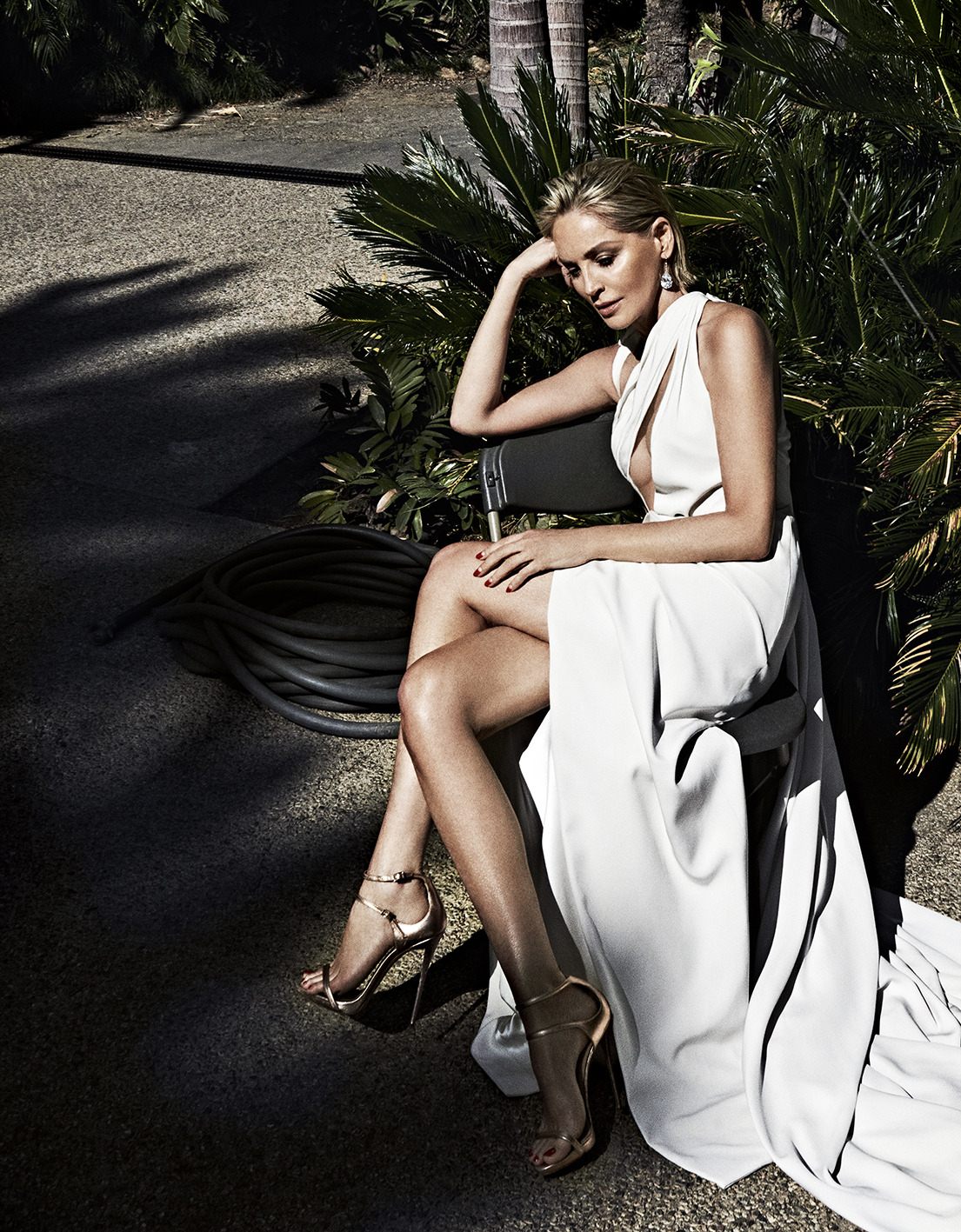 Sharon Stone Says In Beginning of Her Career, Men Sat Around Hollywood Tables Talking Which Female Actors Were 'F#ckable'