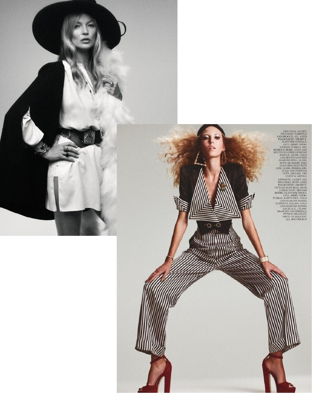 36768b84cca Mikael Jansson Flashes Kate Moss + Ella Richards in 'Wild Things ...