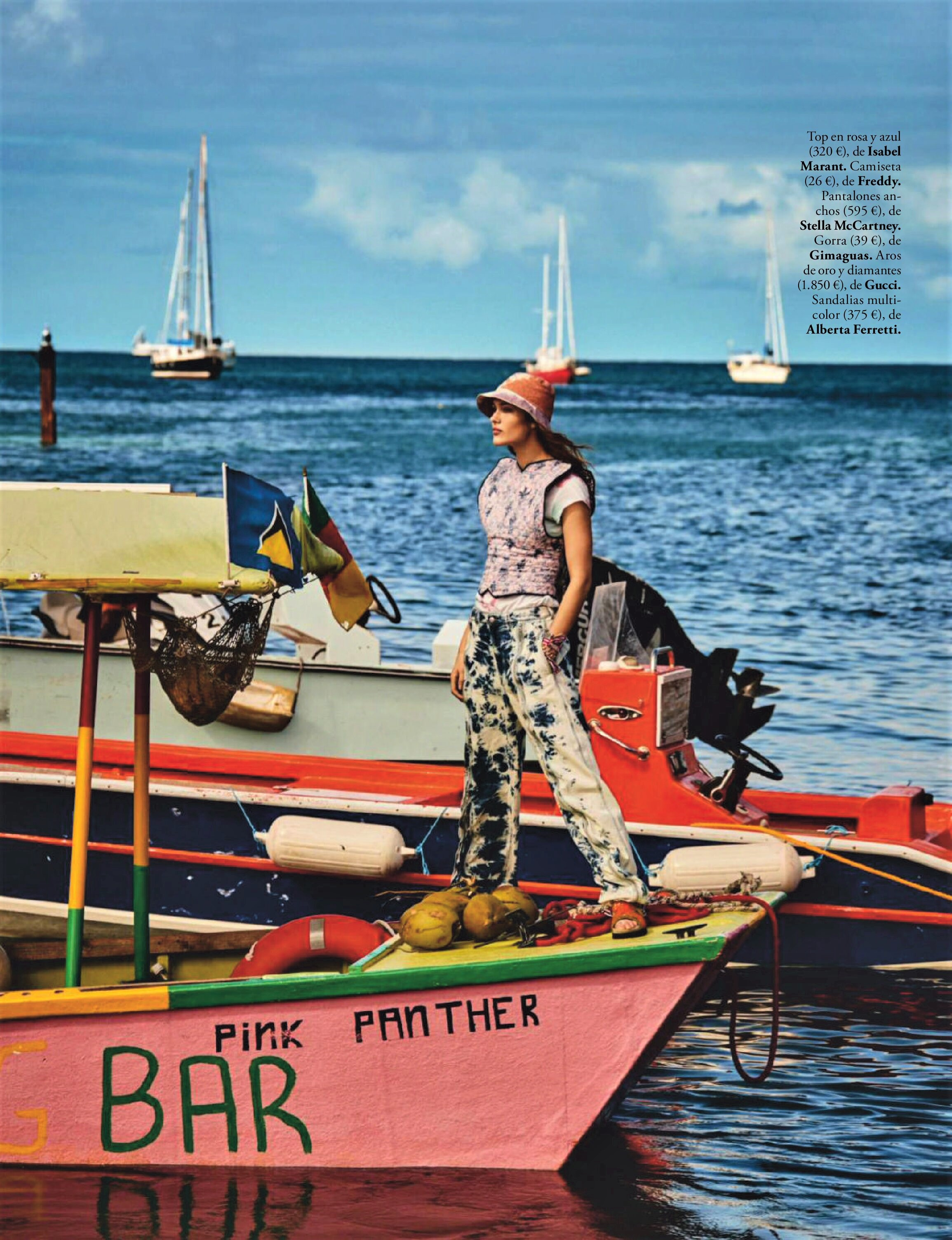 Rozanne Verduin Enjoys Summer Fun Lensed By Victor Demarchelier For ELLE Spain.