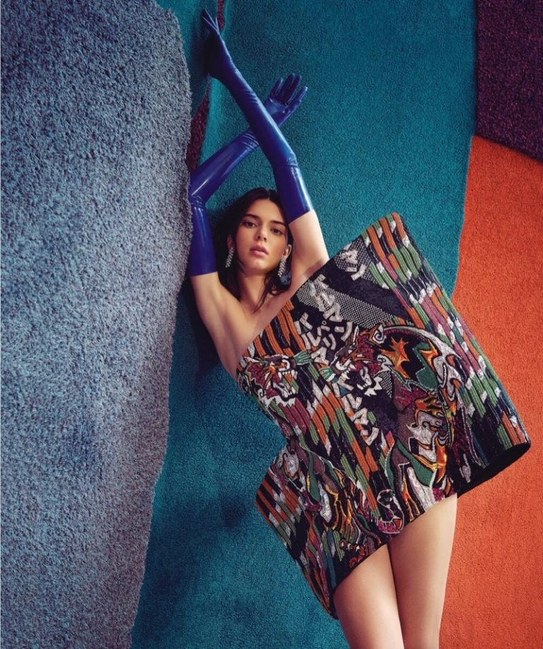 Kendall Jenner Wears Boho Architecture by Charles Dennington for Vogue Australia June 2019