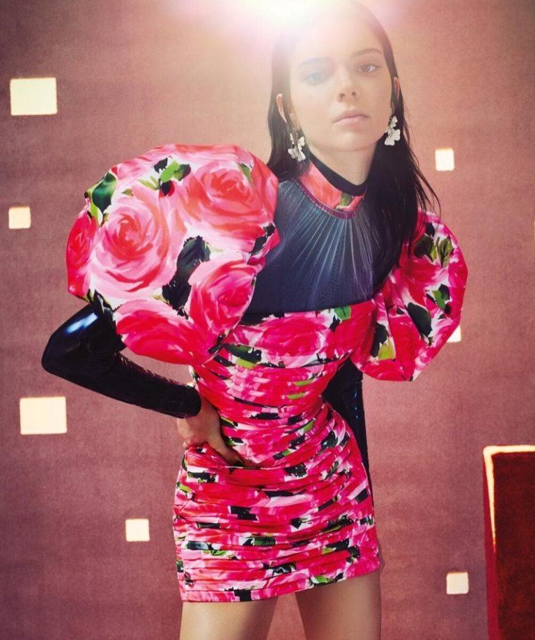 Kendall Jenner Blooms Profusely In Charles Dennington Images for Vogue Australia June 2019