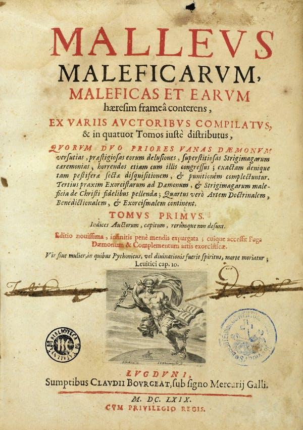 The witch hunter's handbook Wikicommons