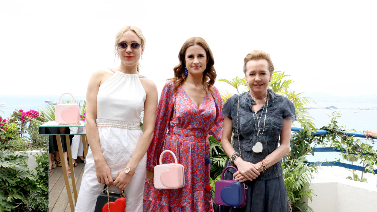 Actor Chloe Sevigny; Eco-Age and Green Carpet Challenge founder Livia Firth; and Caroline Scheufele, Artistic Director and Co-President of Chopard . Image courtesy of Chopard.