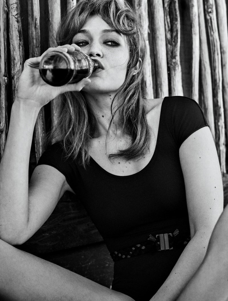 Gigi Hadid Swigs Some Sugar In Vogue Mexico's June 2019 Issue, Lensed By Giampaolo Sgura
