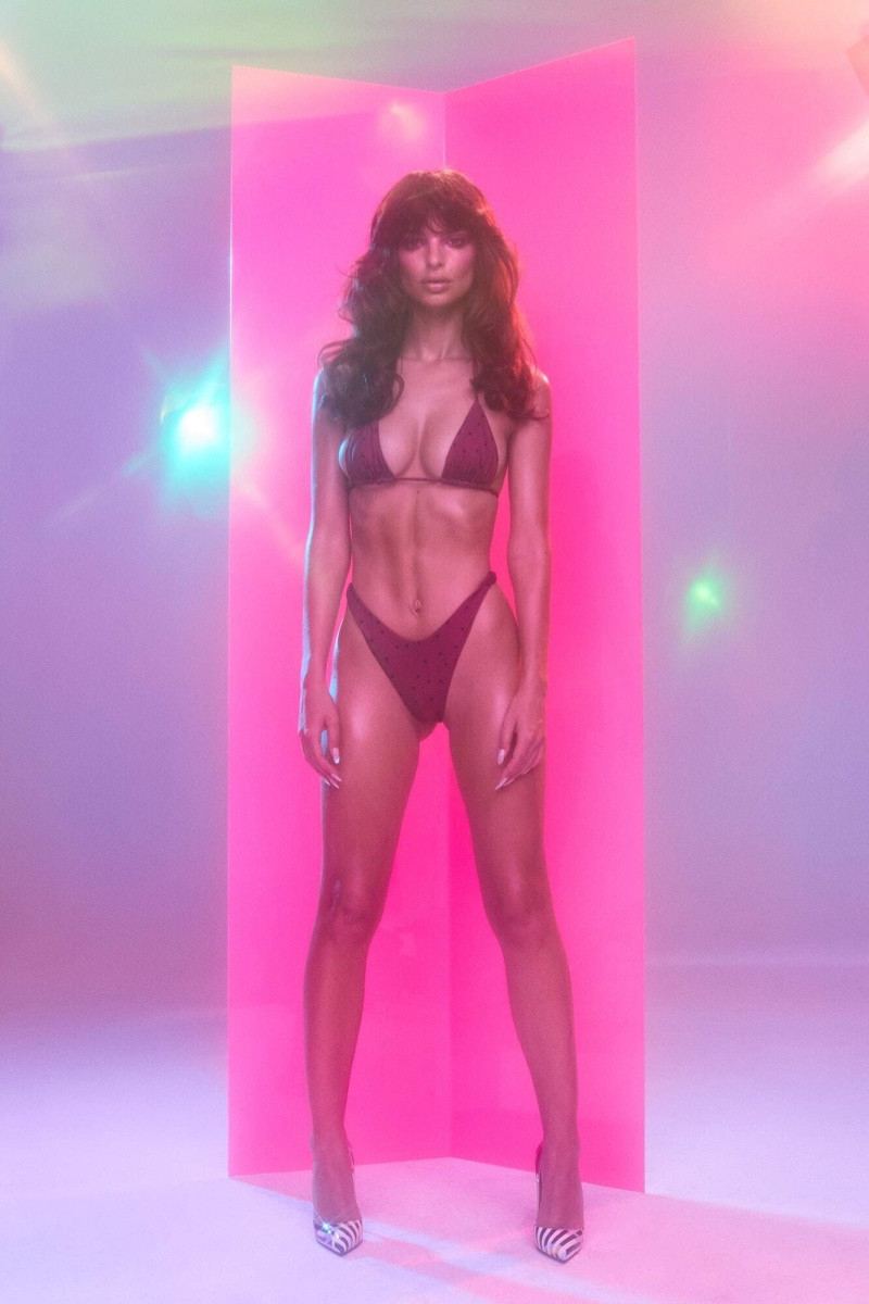Emily Ratajkowski Torches Hearts and Minds In Her Inamorata Swim 2019 Collection