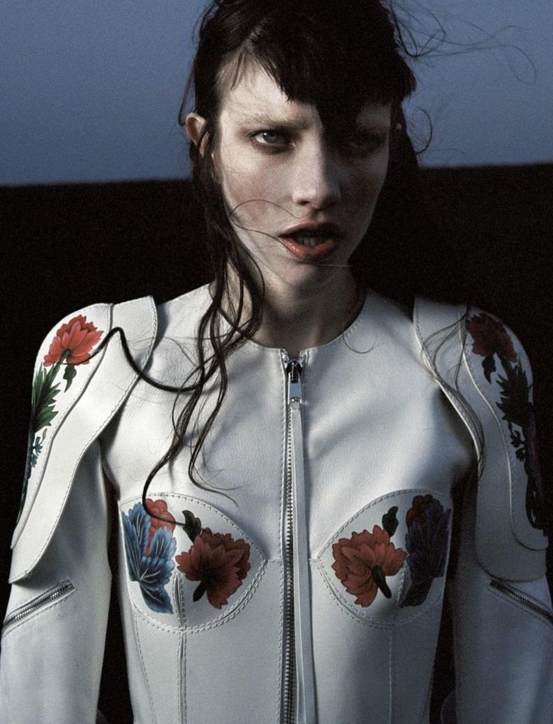 Jacket by Alexander McQueen.