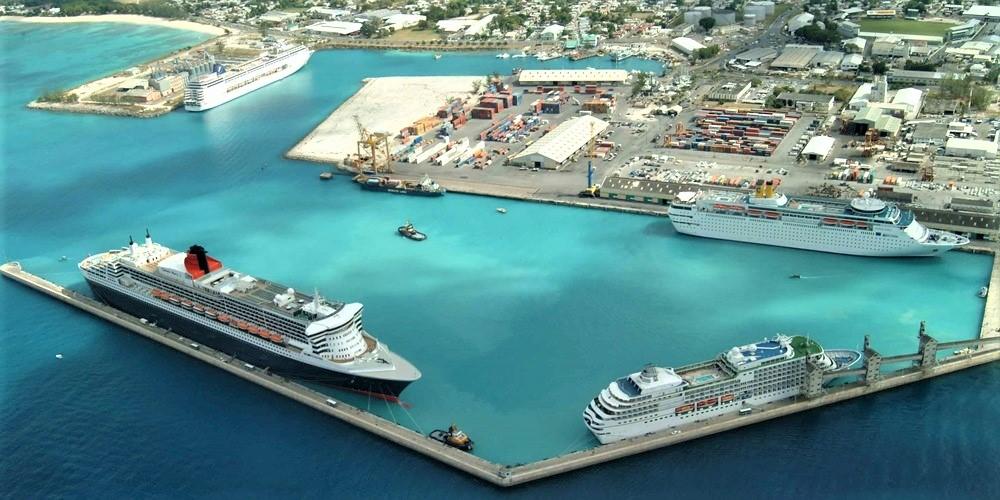 Bridgetown port in Barbados.jpg