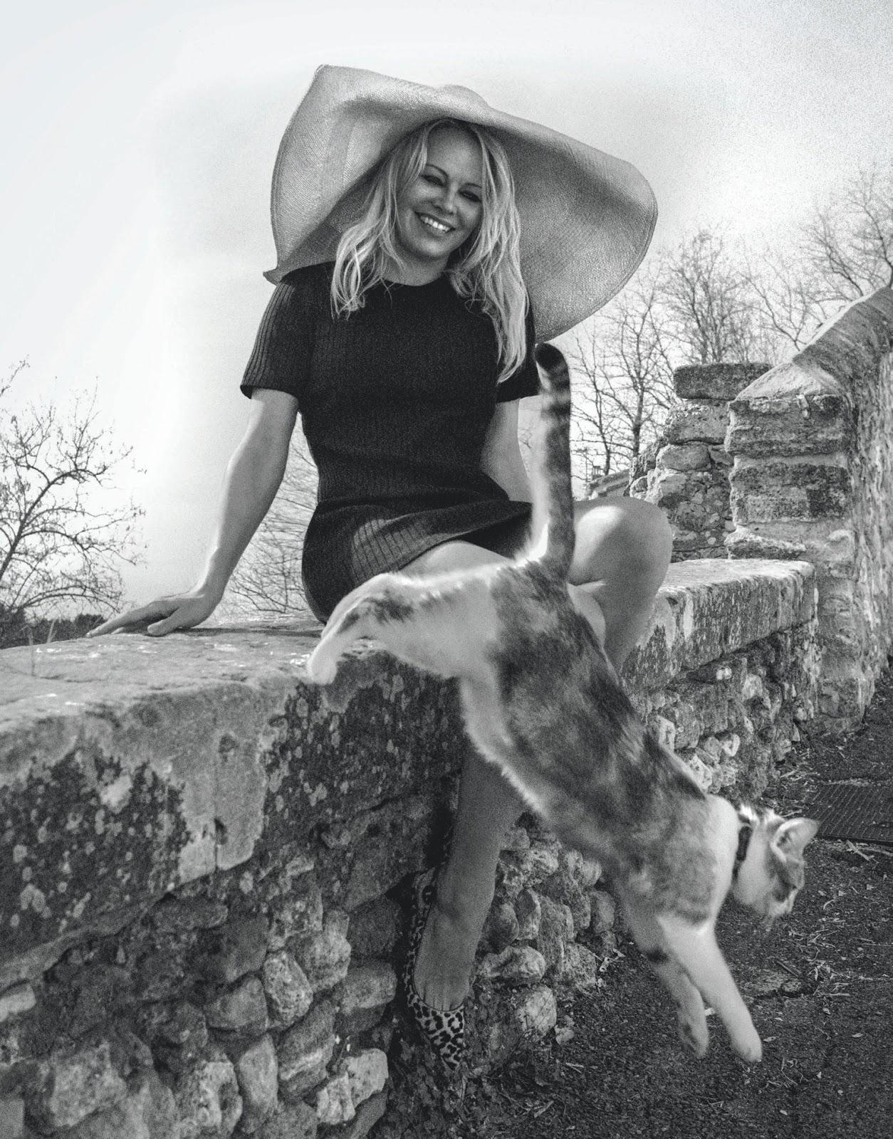 Pamela Anderson by Cedric Buchet in Porter Magazine Summer 2019 (7).jpg