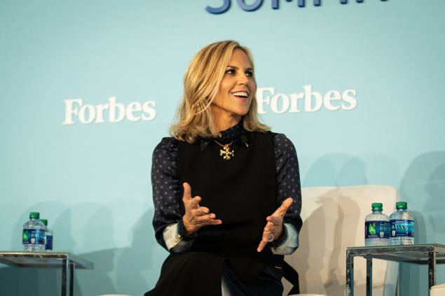 Tory Burch CEO at Forbes Women's Summit 2019.