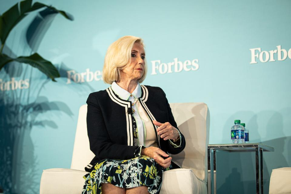 Equal pay activist Lilly Ledbetter at Forbes Women Summit 2019