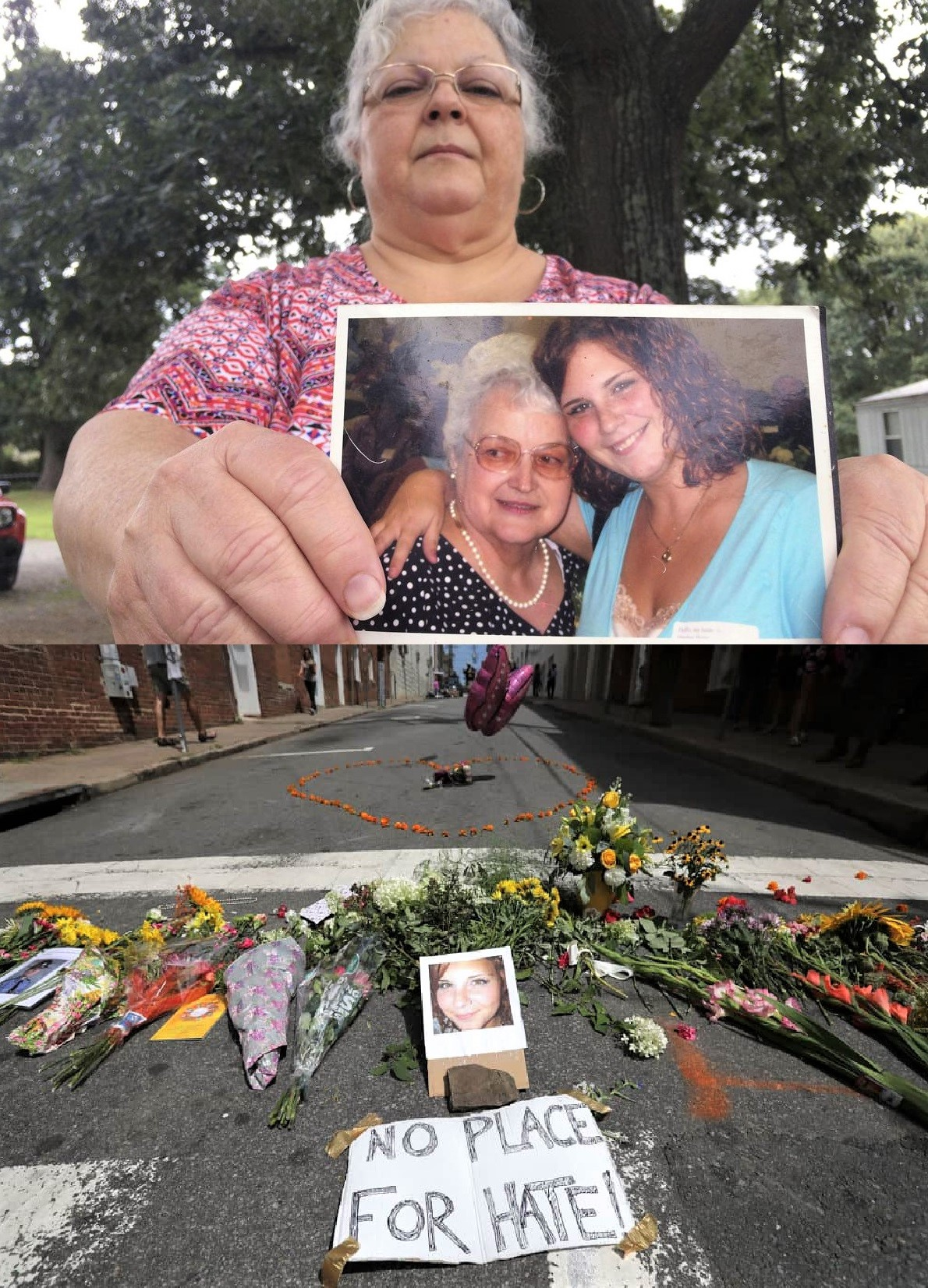 Susan Bro and dead daughter, Charlottesville activist  Heather Hyer-collage.jpg