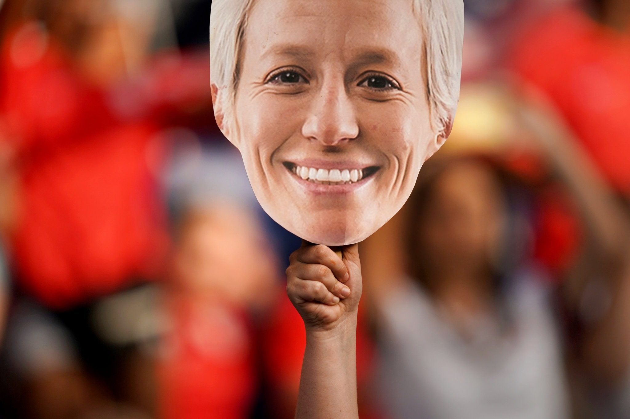Megan Rapinoe's outspoken nature has made her a favorite of fans who follow the United States women's soccer team.CreditCreditLionel Bonaventure/Agence France-Presse — Getty Images  via New York Times