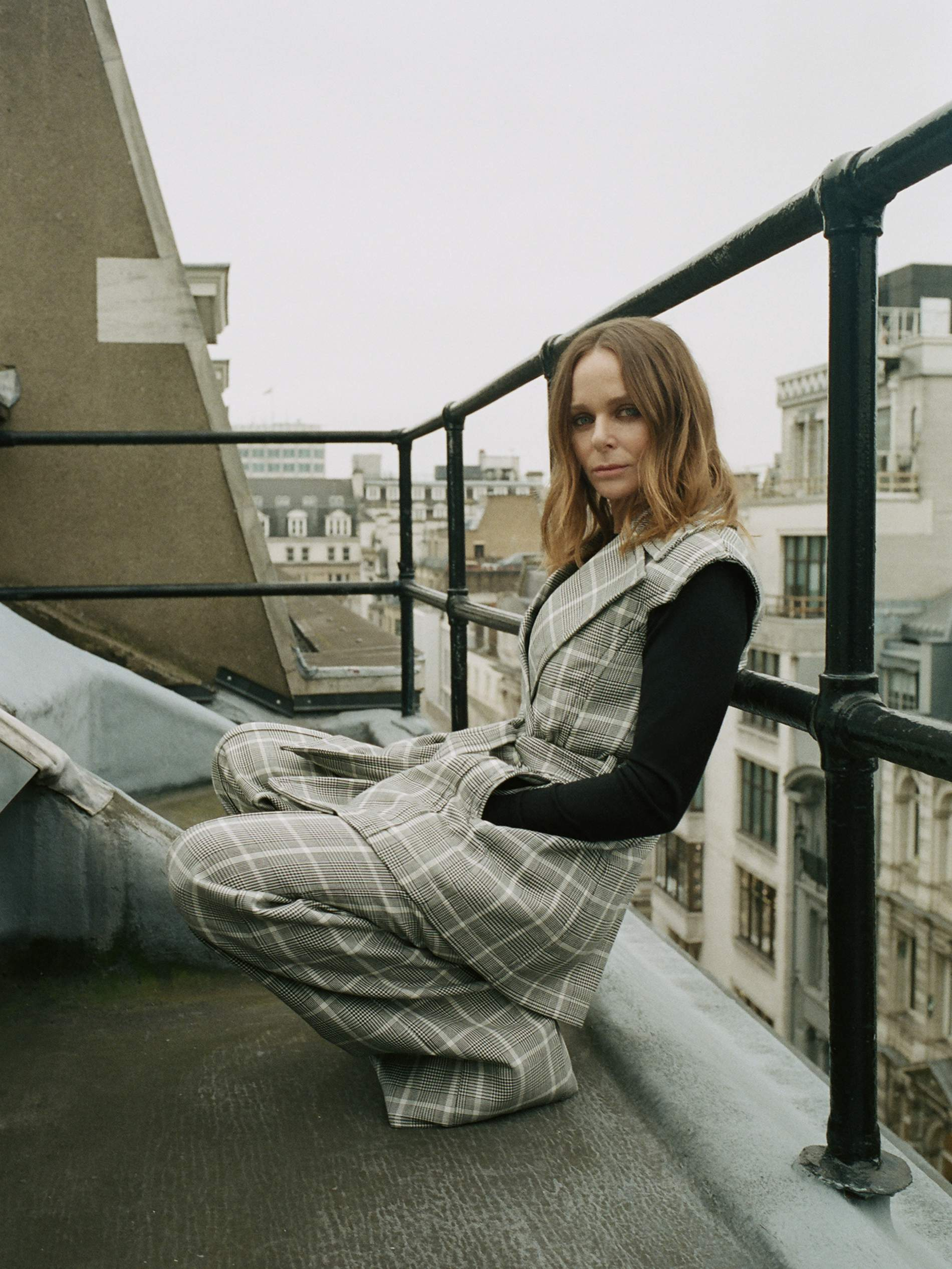 Stella McCartney takes menswear in non-classical direction. Image by Matthew Sprout.