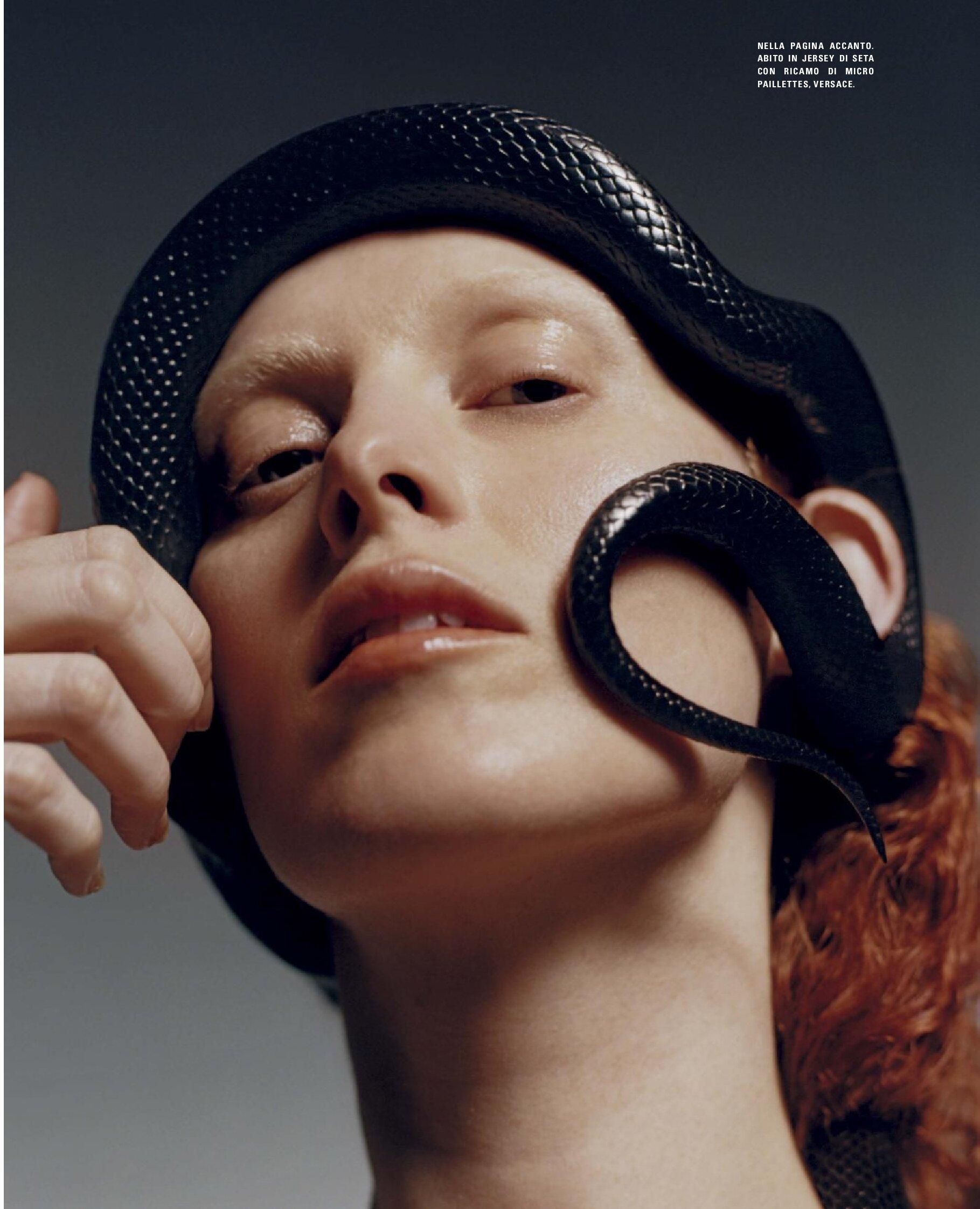 Karen Elson by Harley Weir for Vogue Italia July 2019 (1).jpg