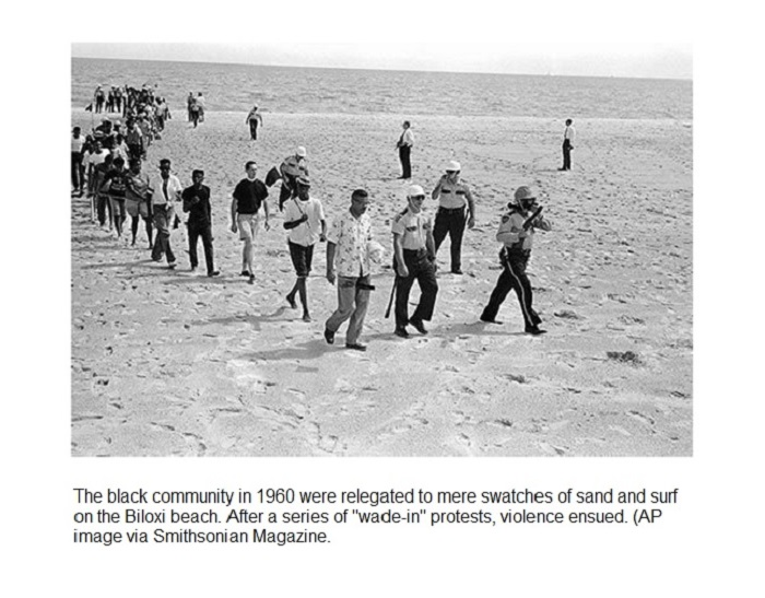 Image via A Civil Rights Watershed in Biloxi, Mississippi, Smithsonian Magazine.