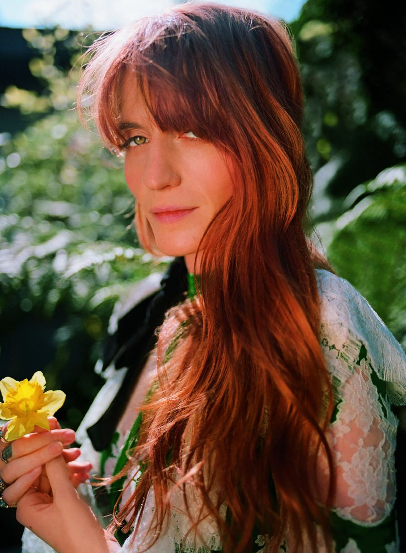 Erdem dress, £4,895 (erdem.com). Image: Florence Welch by Bella Newman.