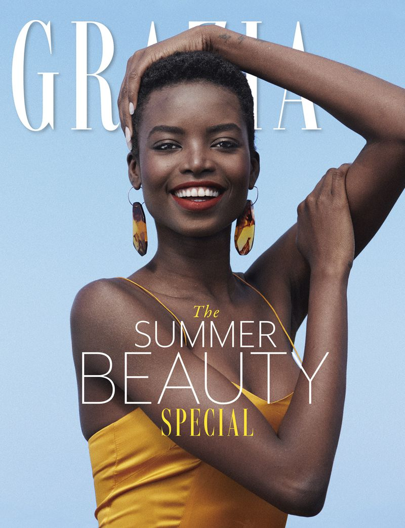 Maria Borges by Paul Scala for Grazia UK July 2019 Cover.jpg