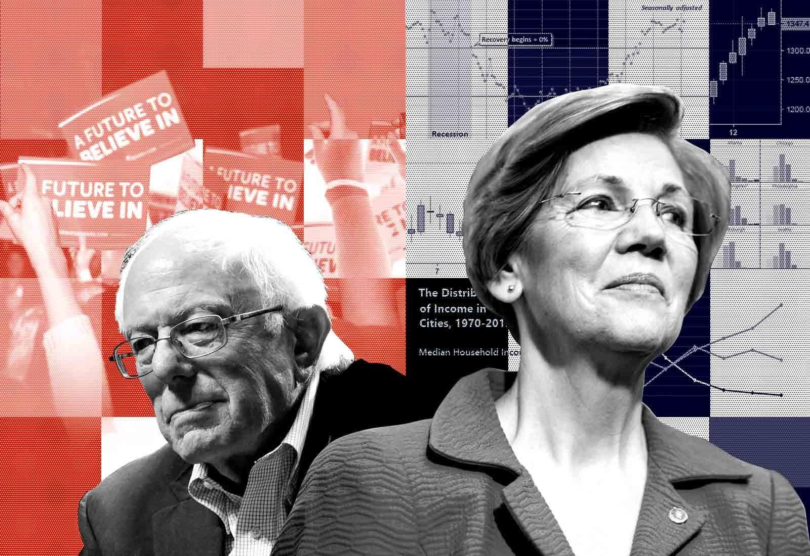 Think Elizabeth Warren And Bernie Sanders Are The Same? She Doesn't.  via Buzzfeed